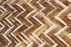 Hand geweven bamboeambacht stock afbeeldingen