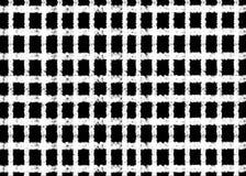 Hand gezeichnet, abstraktes Monochrom geschaffen vom geometrischen Formhintergrund lizenzfreie abbildung