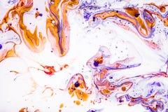 Hand gezeichnete Acrylmalerei Hintergrund der abstrakten Kunst Farbbeschaffenheit Fragment der Grafik Abstrakter Malereihintergru Lizenzfreie Stockbilder