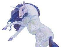 Hand gezeichnete Aquarellrotkatze Stockfoto