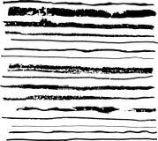 Hand gezeichnete künstlerische Medien Stockbilder