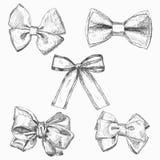 Hand gezeichnete Vektorillustrationen Verschiedene Arten von Bögen Vervollkommnen Sie für Einladungen, Grußkarten, Poster, Drucke Lizenzfreie Stockbilder