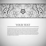 Hand gezeichneter abstrakter Hintergrund Stockbild