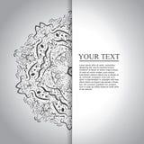 Hand gezeichneter abstrakter Hintergrund Stockfotografie