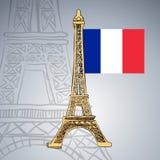Hand gezeichneter Eiffelturm lizenzfreie abbildung