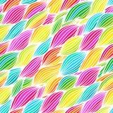 Hand gezeichneter gewellter Hintergrund Stockbilder