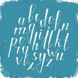 Hand gezeichnetes Alphabet Lizenzfreies Stockfoto