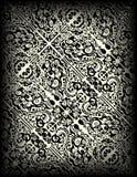 Hand gezeichnetes Muster Stockfotografie