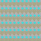 Hand gezeichnetes nahtloses Muster der Gekritzelweinlese Lizenzfreies Stockbild