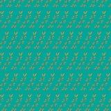 Hand gezeichnetes nahtloses Muster der Gekritzelweinlese Stockfotografie