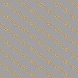Hand gezeichnetes nahtloses Muster der Gekritzelweinlese Stockbilder