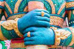Hand of Giant statues Royalty Free Stock Image