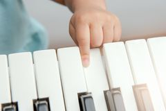 Musical keyboard Royalty Free Stock Photography
