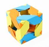 hand - gjord origami Royaltyfri Bild