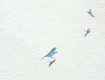 hand - gjord papper texturerad white Arkivbild