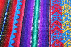 hand - gjord peruansk textur Royaltyfria Bilder