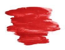 Hand - gjord slaglängd för borste för olje- målarfärg Arkivbild
