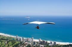 Hand-gliding Over Rio de Janeiro Stock Image