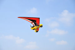 Hand gliding sports ultralight Stock Photo