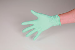 Hand In Glove Stock Images