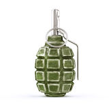 Hand grenade. Old soviet hand grenade f1 no white background Royalty Free Stock Image