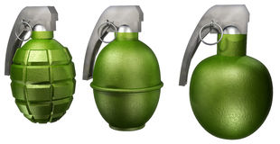 Hand grenade Royalty Free Stock Photo