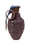 Hand Grenade - Clipping Path Stock Photos