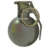 Hand grenade Royalty Free Stock Photography