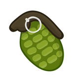 Hand grenade  illustration Stock Image