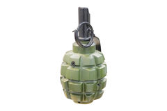 Hand Grenade Isolated. Under the white background Royalty Free Stock Photos