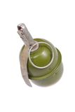 Hand grenade isolated on a white background Stock Photos