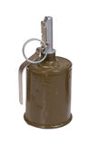 Hand grenade isolated Stock Image