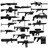 Hand grenade launcher Stock Images