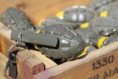 Hand grenades Stock Photos