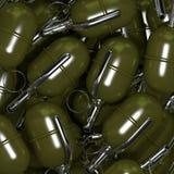 Hand grenades vector illustration