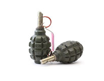 Hand Grenades Royalty Free Stock Photography