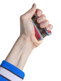 Hand Grip Exercise Royalty Free Stock Images