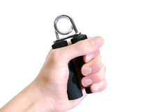 Hand grip exerciser Royalty Free Stock Photography