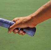 Hand Grips Tennis Racket Stock Image