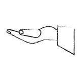 hand groom proposal sketch Stock Image