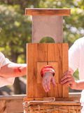 Hand Guillotine Stock Photography