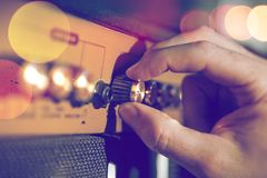 Musical instrument and live music Royalty Free Stock Images