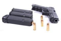 Hand gun Stock Image