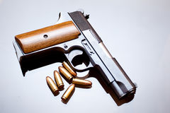 Hand gun Royalty Free Stock Photos