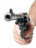 Hand with gun Royalty Free Stock Photos