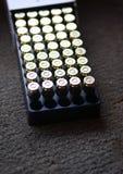 Hand gun bullets Royalty Free Stock Images