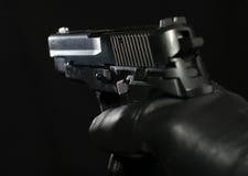 Hand-gun di Sig P-228 (replica di plastica) Fotografia Stock Libera da Diritti