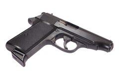 Hand gun isolated on white background Stock Photo