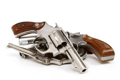 Hand Gun Stash Stock Photo