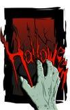 Hand Halloween Stock Image